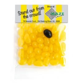 Mini Jelly Bean Header Bag