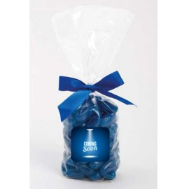 Mug-Drop Bags with Jelly Beans (Corporate Colour)