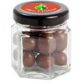 Small Hexagon Jar with Choc Sultanas