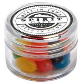 Mini Plastic Jar with Mixed Mini Jelly Beans