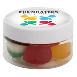 Small Plastic Jar with Mixed Lollies