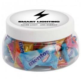 Large Plastic Jar with Mentos