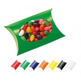 Window Pillow Box with Mixed Jelly Beans