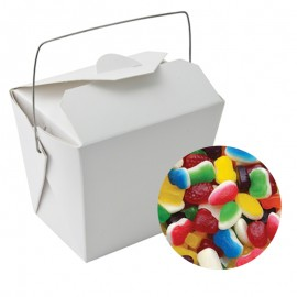 Paper Noodle Box with Mixed Lollies