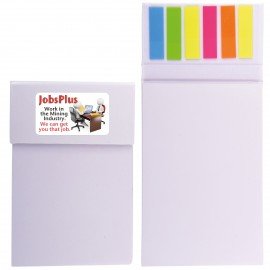 Shimmer Cardboard Notepad / Noteflags