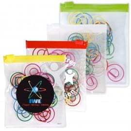 @ Shape Paperclips in PVC Zipper Pouch