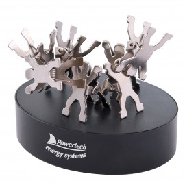 Gymnast Clips on Paperweight Magnetic Base