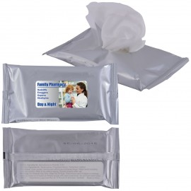 Pocket Anti Bacterial Wet Wipes in Pouch