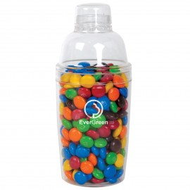 M&M's in Acrylic Cocktail Shaker