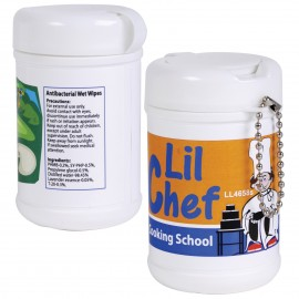 Anti Bacterial Wet Wipes in Canister