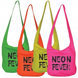 Rio Neon Canvas Shoulder Bags - 340 GSM