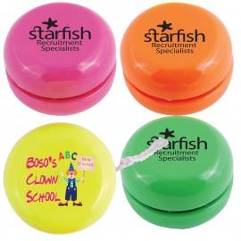 Standard Assorted Fluro Yo-Yos