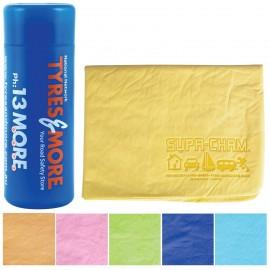 Debossed Supa Cham Chamois / Body Towel in Tube