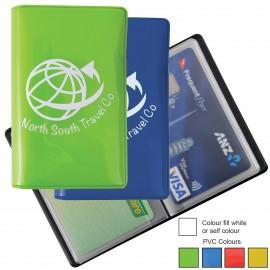 Shiny PVC Credit Card Wallet