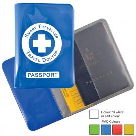 Shiny PVC Passport Wallet
