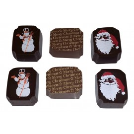 Santa Chocolate (filled with salted caramel & ganache)