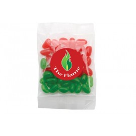 Mixed Red and Green Mini Jelly Beans
