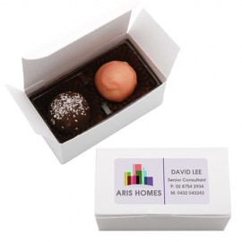 2pc Truffle box- Assorted Flavours