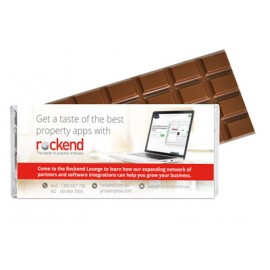 Signature Large Chocolate Bar with Customised Wrapper