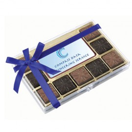 Standard Chocolate with Premium Belgian chocolate centre piece with full colour print