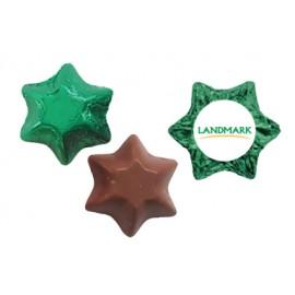 Chocolate Stars w Sticker