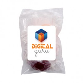 Small Confectionery Bag - Acid Drops (Corporate Colour)