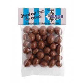 Chocolate Peanut Header Bag