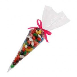 Confectionery Cones with Mini Jelly Beans (Corporate Colour)