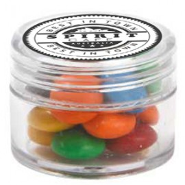Mini Plastic Jar with M&M's