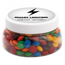Large Plastic Jar with M&M's