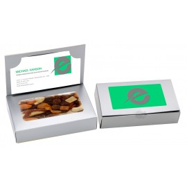 Business Card box with Fruit and Nut Mix