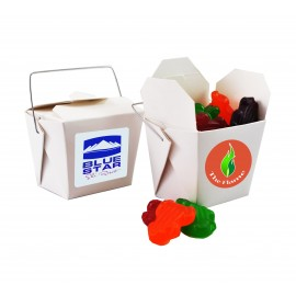 Paper Noodle Box with Fruity Frogs