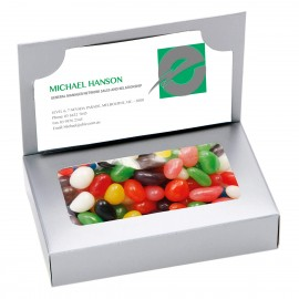 Business Card Box with Mixed Jelly Beans