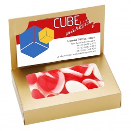 Business Card Box with Strawberry n Cream