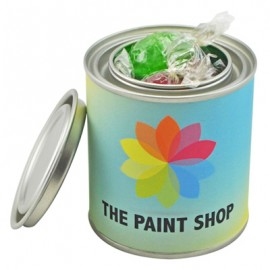 Small Paint Tin with Mixed Acid Drops