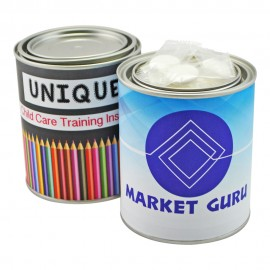 Medium Paint Tin with Individually Wrapped Mints