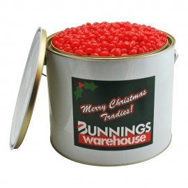 6 Ltr Paint Tin with Single Colour Mini Jelly Beans