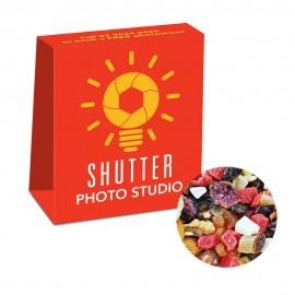 Custom Printed Satchels with Fruit n Nut Mix