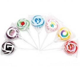 Swirl Lollipop Single Colour _ Small