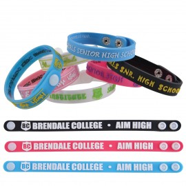 Adjustable 12mm PVC Wrist Band