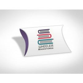 Custom Printed Mini Pillow box with Flat Mints (3pcs)