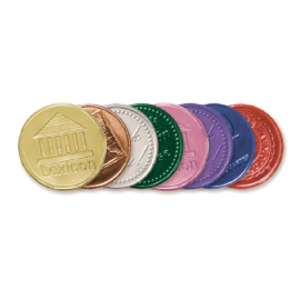 Foil Colours-Custom Embossed Coins (Min 1k)