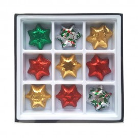 Chocolate Stars-Assorted Mix or 1 Single colour